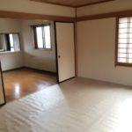 和室10帖とダイニングキッチン
