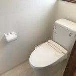 洗浄便座付き水洗トイレ