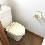 暖房便座付き水洗トイレ